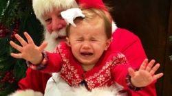 Rencontrer le père Noël n'est pas toujours magique, la