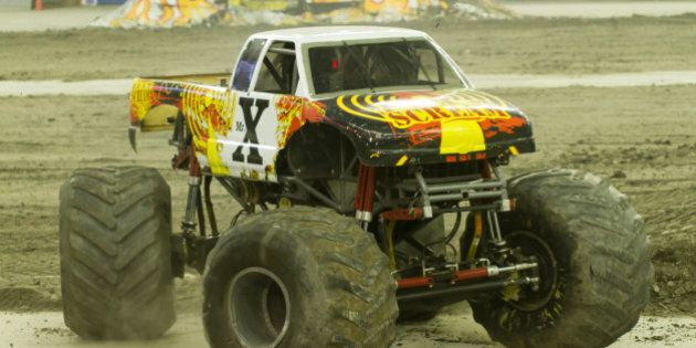 Monster Trucks au Stade olympique: tout un spectacle!