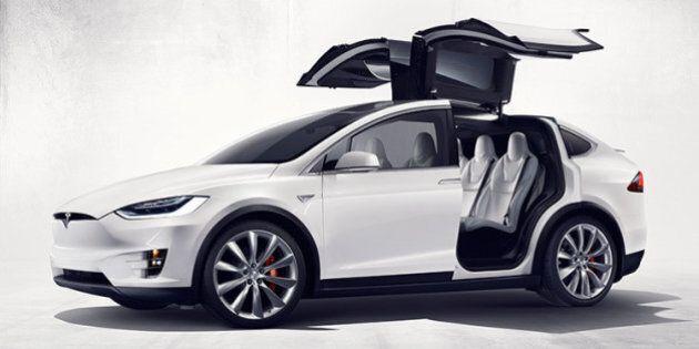 Airbnb mais pour l'auto : louez un Tesla Model X pour une journée