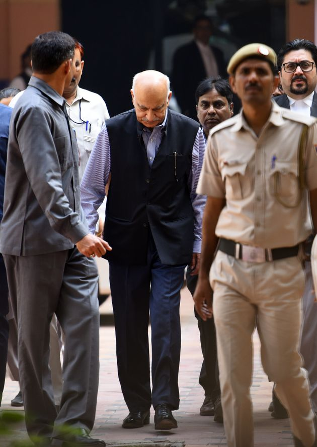 MJ Akbar Reportedly Had One Answer For Most Cross Examination