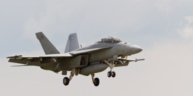 The McDonnell Douglas CF-18 Hornet (official military designation CF-188) is a Canadian Forces aircraft,...