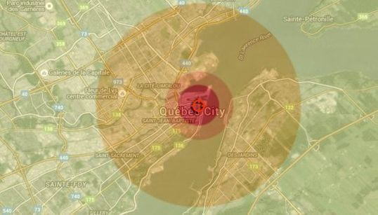 Quel impact aurait une bombe atomique sur votre