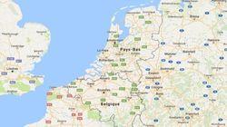 La frontière entre la Belgique et les Pays-Bas n'est plus au même