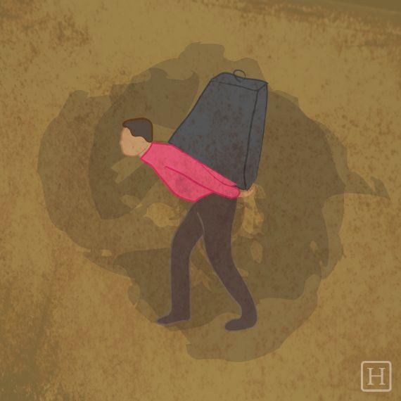 Quels sont les effets du stress sur le corps? Voici en dessins ce qu'on ressent physiquement quand on