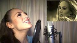 À elle seule, elle imite 13 chanteuses populaires