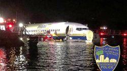 Boeing 737 finisce fuori pista in un fiume in Florida: almeno 21
