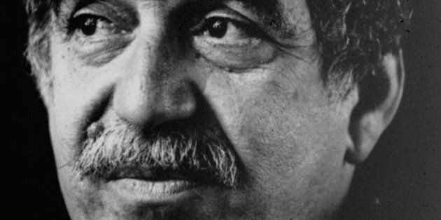 FILE - This undated file photo of Colombian Nobel laureate Gabriel Garcia Marquez is seen in an unknown...