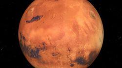 Mars pourrait avoir un anneau d'ici 20 à 40 millions