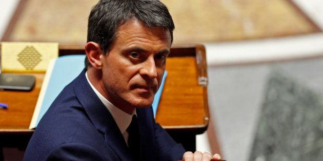 French Prime Minister Manuel Valls attends the questions to the government session at the National Assembly...