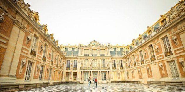 Une partie du château de Versailles convertie en hôtel de