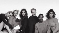 Ces top modèles des années 90 se retrouvent pour une séance