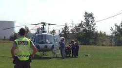 Trois survivants à l'écrasement d'hélicoptère au nord de