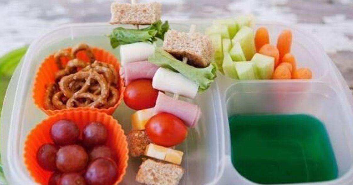 Idee Repas Froid Midi.13 Idees Repas Pour La Boite A Lunch Des Enfants Huffpost