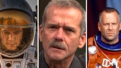 « The Martian », « Gravity », « Armageddon »... ce qu'en pense Chris