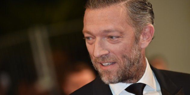 French actor Vincent Cassel arrives for the screening of the film 'Mon Roi' (My King) at the 68th Cannes...