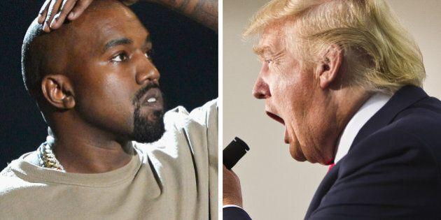 Kanye West, Donald Trump... quand la «disruption» fait son entrée dans la politique