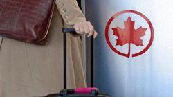 Un avion d'Air Canada forcé de rebrousser chemin à cause d'un passager