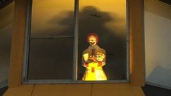 Quand Ronald McDonald fait peur