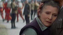Carrie Fisher répond à ceux qui jugent qu'elle a mal vieilli dans «Star Wars 7»