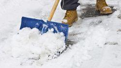 Les photos de la première tempête de neige de