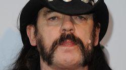 Le légendaire Lemmy Kilmister du groupe Motörhead est
