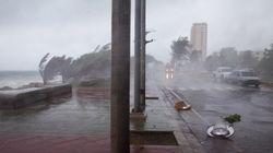 La tempête Erika se dissipe au-dessus de