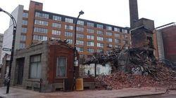 Héritage Montréal dénonce la destruction d'un immeuble patrimonial