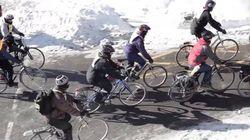 Le vélo d'hiver, ce n'est pas un sport extrême