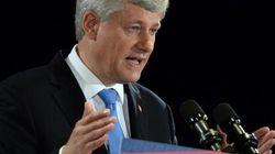 Surplus budgétaire: Harper se félicite