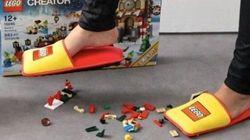Tous les parents voudraient une paire de ces pantoufles Lego
