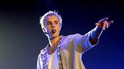 Justin Bieber encore nu sur