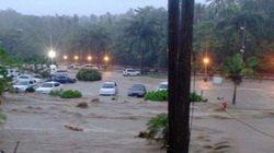 La tempête Erika fait des ravages