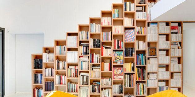 Cette maison est parfaite pour les amoureux de lecture