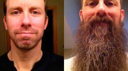 Il se laisse pousser la barbe pendant 365 jours (VIDÉO)