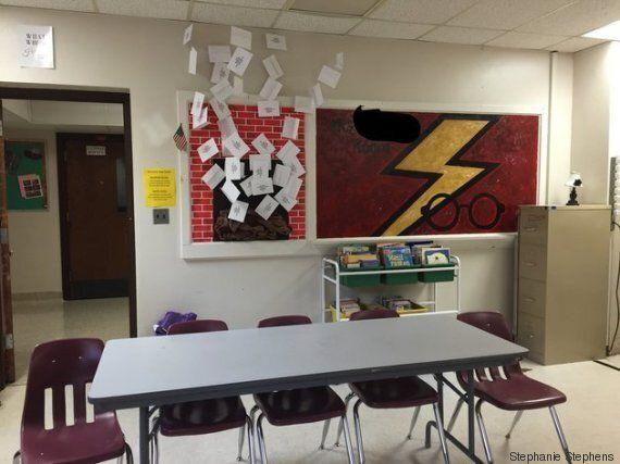 Une classe aux couleurs d'Harry Potter pour inciter les élèves à lecture