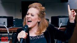 Même un extrait de la nouvelle chanson d'Adele nous fait