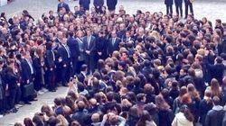 La France s'est figée pour une minute de silence