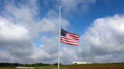 Les drapeaux américains en