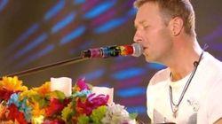 Touchant hommage de Coldplay aux victimes des attentats de