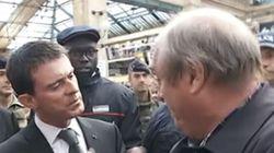 Manuel Valls interpellé par un homme sans nouvelles de sa fille
