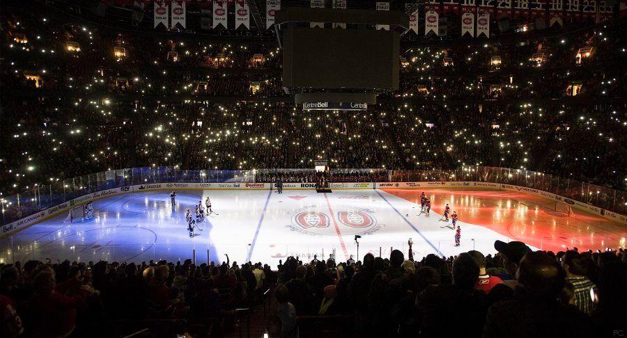 La photo du jour: Le Canadien de Montréal affiche son soutien à la