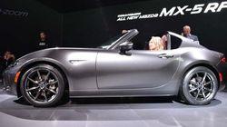 Une Mazda MX-5 à toit rigide rétractable dévoilée à New