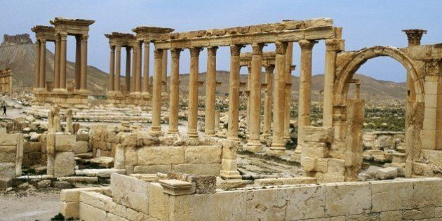SYRIA - APRIL 01: Illustration: in Palmyra, Syria in April, 1998 - Palmyre. (Photo by Mohamed LOUNES/Gamma-Rapho...