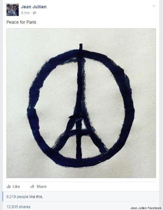 «Peace for Paris», le dessin qui émerge sur les réseaux