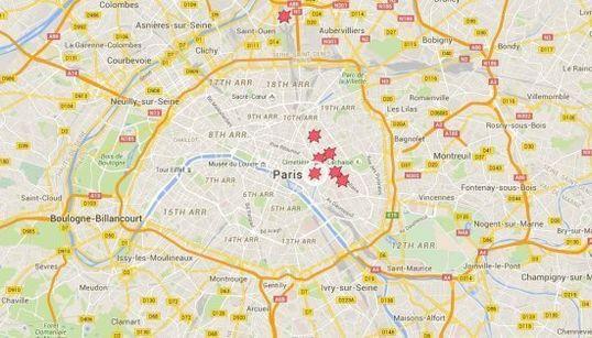 Attentats de Paris: Le Bataclan, le Stade de France, le «Petit Cambodge»... les lieux visés