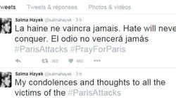 Attentats de Paris: les stars
