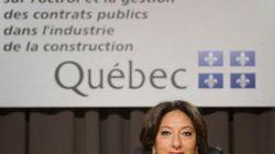 Le rapport Charbonneau n'est pas sur une «tablette», assure le gouvernement Couillard