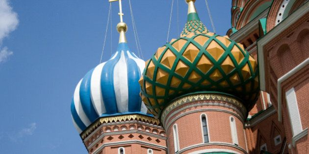 This is one of the photos I took of St. Basil's that just weren't very cool, but I don't think I'm going...