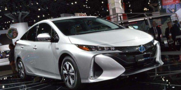 Toyota fait place à nouvelle Prius branchable au salon de New-York