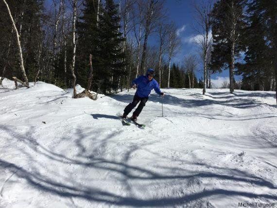 Ski de printemps ou ski d'hiver cette